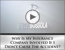 Why Is My Insurance Company Involved If I Didn't Cause The Accident?