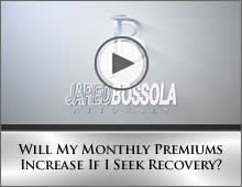 Will My Monthly Premiums Increase If I Seek Recovery?